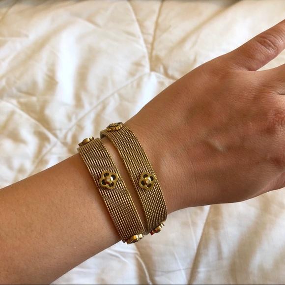 Henri Bendel Jewelry Gold Wrap Bracelet Poshmark